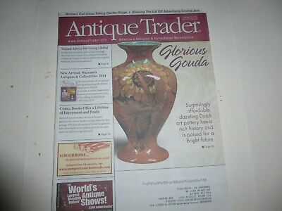 Antique Trader Magazine - February 20, 2013 - Dutch Art Pottery; Movie Posters