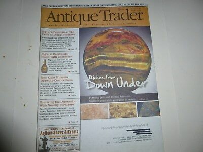 Antique Trader Magazine - Nov. 27, 2013 - Australia Treasures; Figural Bottles