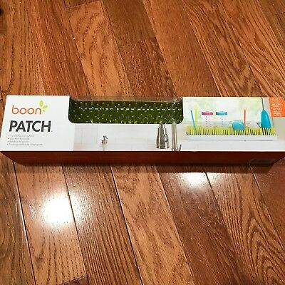 Boon B11005 Patch Countertop Drying Rack, Slim Grass, Baby Bottle, Green - 1978