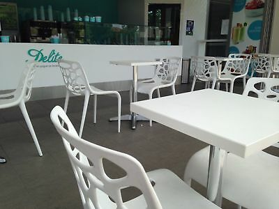 Cafe Furniture Table Tops for Cafe Restaurant White