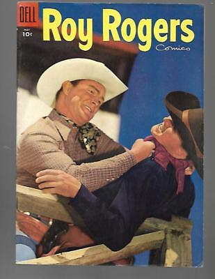 ROY ROGERS Comics #89 Dell Golden Age Western Cowboy May 1955 HIGH GRADE