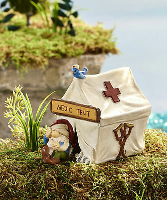 Miniature Dollhouse FAIRY GARDEN - Game of Gnomes - Tent - Accessories