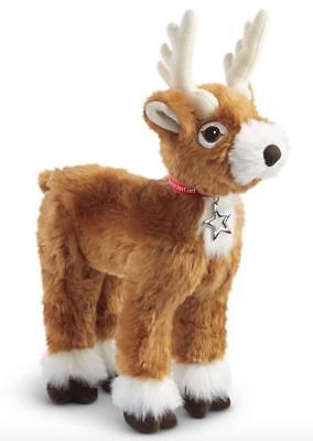 American Girl Festive Holiday Reindeer~Christmas Plush Stuffed Animal~New