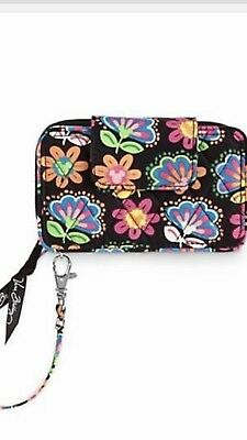 Vera Bradley Disney Parks Smartphone Wristlet Midnight With Mickey Mouse Wallet