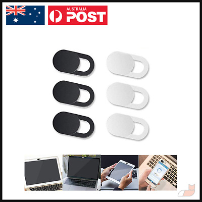 3x Webcam Cover Sticker Slider Privacy Mobile Laptop Notebook Tablet Macbook