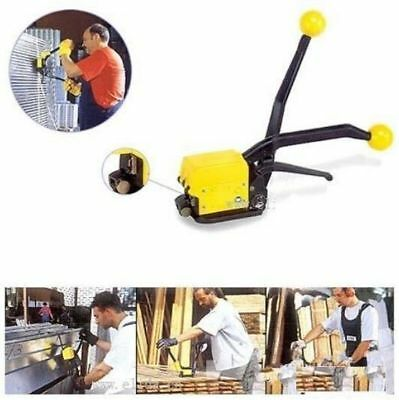 "A333 Manual Steel Strapping Combination Tool Machine For 1/2""-3/4"" Steel Straps"