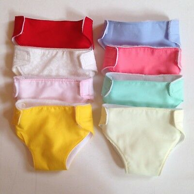 """17"""" Dolls Clothes For Luvabella And Baby Born . Dolls Nappies."""