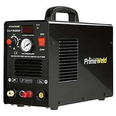 PRIMEWELD 50A CUT50DP NonTouch Pilot Arc Air Inverter Plasma Cutter Dual Voltage