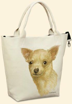Chihuahua Canvas Carryall by Fiddler's Elbow - T705FE