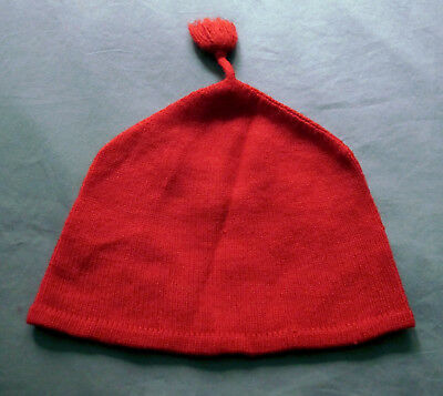 50S 60S VINTAGE SWEDISH Red Wool  Toppluva  Cap Hat VGC. - £6.00 ... 5e76eac62519a