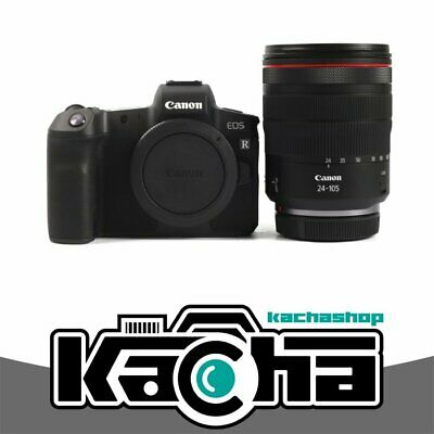 NEUF Canon EOS R Digital Camera with 24-105mm Lens + Mount Adapter EF-EOS