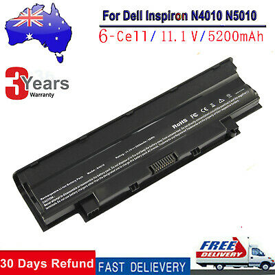Battery Type J1KND for Dell Inspiron N4010 N5010 N5050 N5110 N7010 6 CELL CL