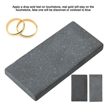 2PC Practical Acid Test Kit Silver Platinum Gold Testing Touchstone Jewelry Tool