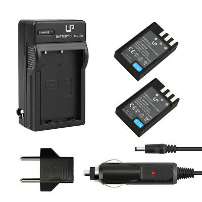 LP 2 EN-EL9/EN-EL9A Battery for Nikon D5000 D3000 D60 D40x D40+WALL CHARGER KIT