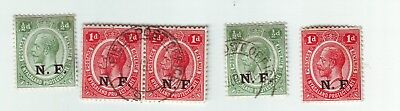 OLD  * GERMAN E. AFRICA UNDER ARMY CONTROL by NYASALAND FORCES =FIELD POST 3+2