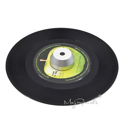 45 RPM Silver Adapter Durable Solid Aluminum Center Adapter for 7 inch Vinyl