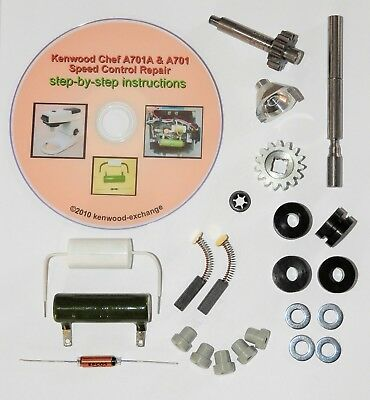 Kenwood Chef A701, A701A Restoration Kit - bring your old Kenwood back to life!