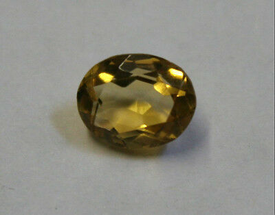 Loose Yellow Citrine Natural Gem 8X10Mm Oval Cut Faceted 2.3Ct Gemstone Ci31
