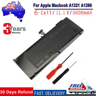 A1321 Battery for MacBook Pro 15 inch A1286 Mid 2009 Early / Late 2010