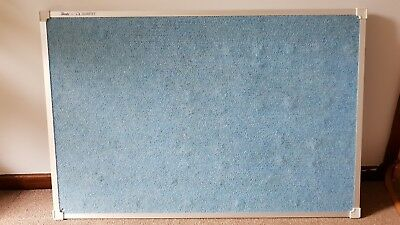 Penrite Fabric Board 900 x 600mm Wedgewood Blue