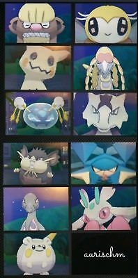 Pokemon 7 + 11 pack shiny or not totems 6IVs Sun Moon & Ultra DS game trade