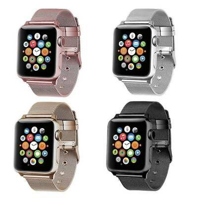 Milanese Stainless Steel Watch Band Strap Bracelet For Apple Watch series 1/2/3