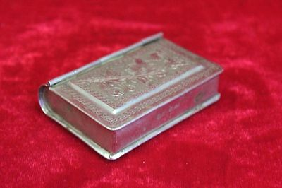 Old Vintage Small Brass Case Box Decorative Collectible PM-25