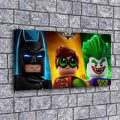 "24""x44"" Batman and Joker Picture Home Decor HD Canvas prints Wall art Painting"