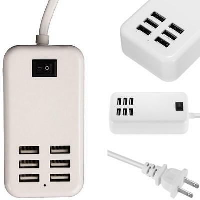Multi Port USB Fast Charger 6-Port Adapter Travel Wall AC Power Supply Best ! S^