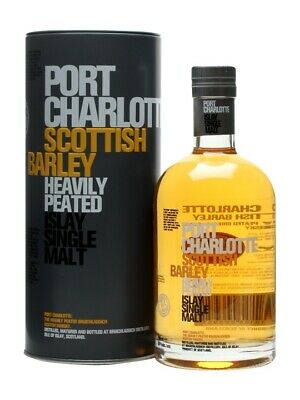 Bruichladdich Port Charlotte Scottish Barley Single Malt Scotch Whisky (700ml)