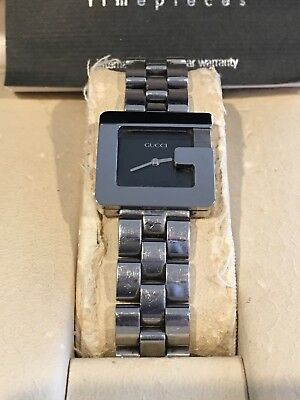 4352d07e093 Gucci G 3600L Ladies watch stainless steel Pre-owned (Bargain) Just reduced  !