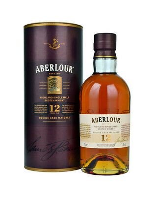 Aberlour 12 Year Double Cask Scotch Whisky 700mL 40 % abv