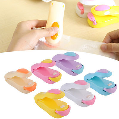 Portable Mini Home Heat Sealing Machine Seal Packing Plastic Bag Sealer