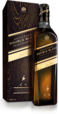 Johnnie Walker Double Black Scotch Whisky 700ml 40 % abv