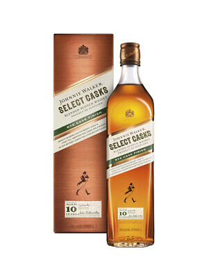 Johnnie Walker 10 years old Select Casks Rye Cask Finish Whisky 700mL @ 46 % ...