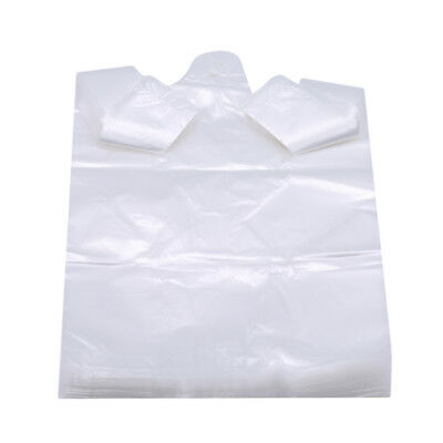 Portable Disposable Transparent Plastic Food Safe Bags With Handle LH
