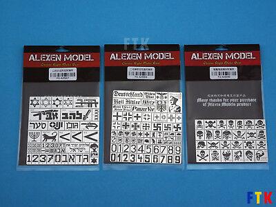 Airbrush Stencils (Military, Modeling, Airbrush Stencils, Airbrush Template)