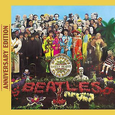 The Beatles Sgt. Pepper's Lonely Hearts Club Band 50th ANNIVERSARY CD (2017)