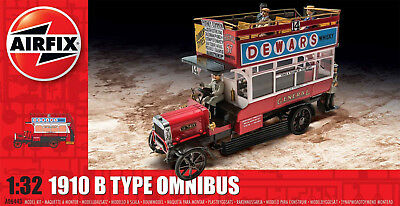 Airfix A06443 London General 1910 B Type Omnibus Plastic Model Kit