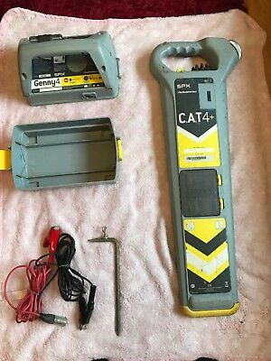 Radiodetection Cat4 Cable Avoiding Genny Cat 4 & Locator