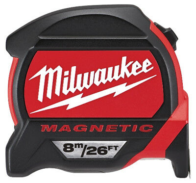 Milwaukee 4932464178 8m Magnetic Tape Measure Premium