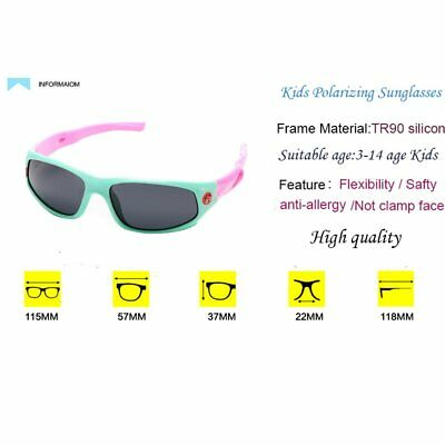 5a142ca4d52 IWOCH Kids Polarized Sunglasses for Baby Girls Rubber Flexible age  (ORIGINAL)
