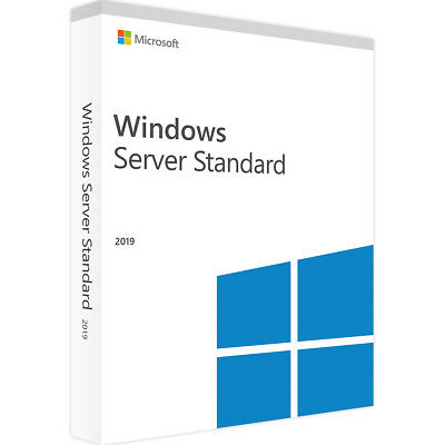 Windows Server 2019 Standard - Neu & Original - Vollversion - ESD
