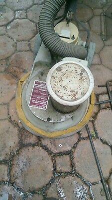 Polivac polisher buffer very good condition includes pads and scrubbing brushes