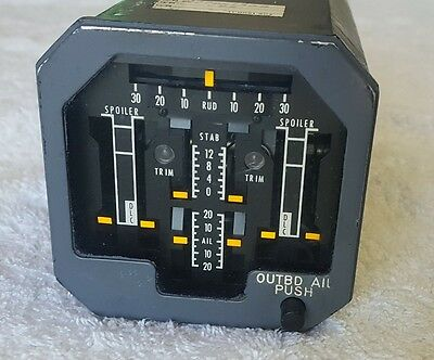 Boeing Aircraft Indicator Surface Position  P/N 9819-29