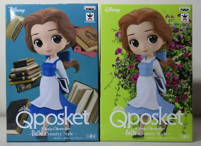 Banpresto Q posket Disney Characters Belle Country Style Figure 2018 Free-shippi