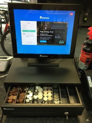 Epos 17 in touch screen till system-Scanner -Receipt Printer-Cash Drawer -Mouse.