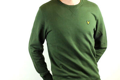 Lyle & Scott - Crew Neck Sweatshirt - Woodland Green - ML424VTR