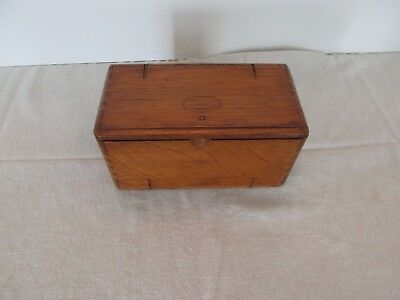 1889 Antique Singer Sewing Box filled with Accessories
