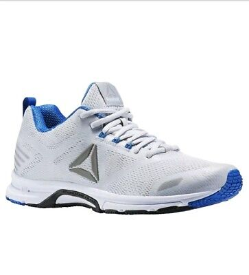 NEW! Men's Reebok Ahary Runner Cloud Grey Blue Athletic Shoe Size 11.5M